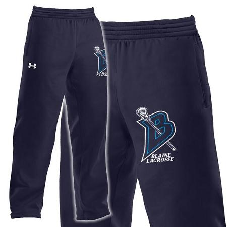 Blaine Bengals Lacrosse UA Fleece Pant 397e98ad51a2