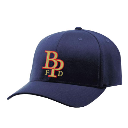 brooklyn park fire dept flexfit cap