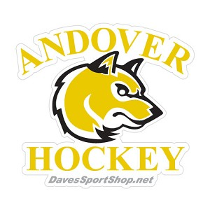 Andover Hockey Bumper Sticker