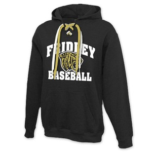 Fridley Baseball Lace Up Hoodie