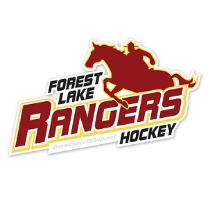 forest lake hockey bumper sticker