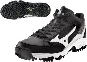 Mizuno 9 Spike Blast 3 - Black/White