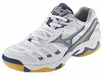 Mizuno Wave Rally 2 Volleyball Shoe- White/Royal