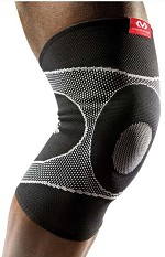McDavid Knee Sleeve/4-way Elastic w/Gel Buttress