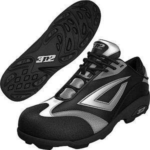 3N2 Accelerate Fastpitch TPU Shoe - Black/Silver
