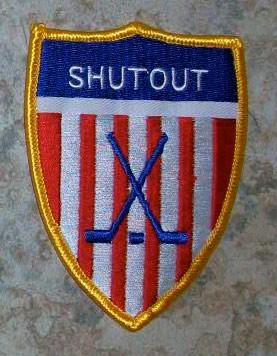 Guard Shut Out Hockey Patch