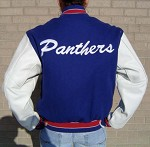 Spring Lake Park Wool/Leather Letter Jacket