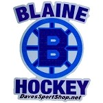 Blaine Hockey Bumper Sticker