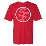 St. Francis Performance Tee (Circle Logo)