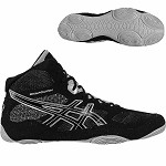 Asics Snapdown Wrestling Shoe - Black/Silver