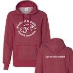 Woodcrest Spanish Immersion Glitter Hoodie Ladies