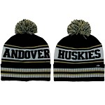 Andover Huskies Winter Poof Hat
