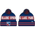 Blaine/SLP Hockey Winter Hat w/Patch