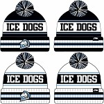 Ice Dogs Hockey Winter Hat w/Patch