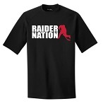 Roseville Hockey RAIDER NATION Performance T-shirt Adult & Youth